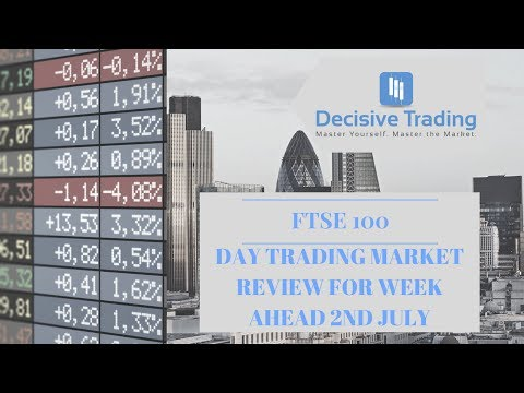 Day Trading Market Review FTSE 100 For Trading Week Ahead 2nd July