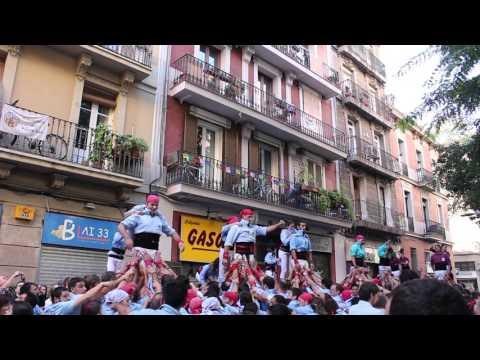 Castellers del Poble Sec - 3 p4 PG - Diada de Tardor (15-XI-15)