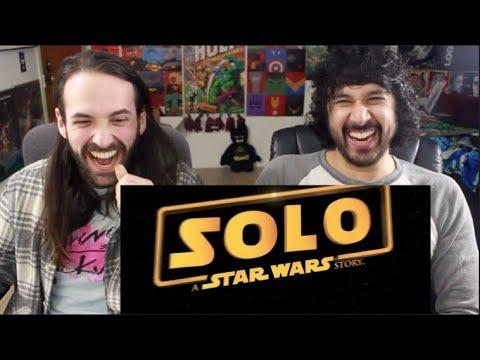 SOLO: A STAR WARS STORY - Sabotage TRAILER Re-Cut by Chris Galegar - REACTION!!!