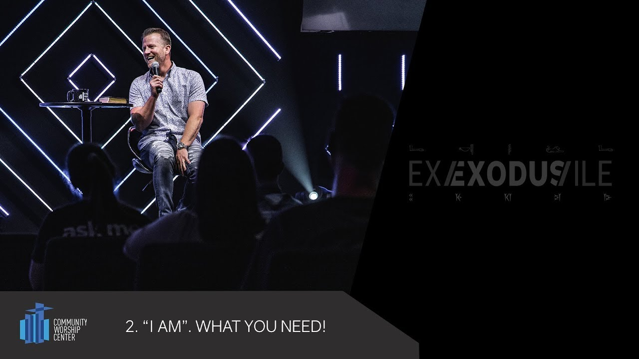 """I AM"". What You Need! 