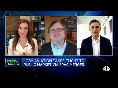 Investor Reid Hoffman and Joby Aviation's Paul Sciarra on going public via SPAC