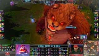 Repeat youtube video NA LCS Casters vs Doom Bots of Doom! Phreak, Kobe, Riv, Jatt and Zirene take on the DOOMBOTSl!