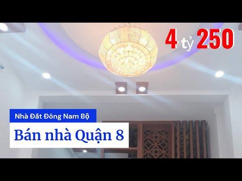 Bán nhà Phạm Thế Hiển phường 7 Quận 8 dưới 5 tỷ. DT 4x11,6m. Nhà mới xây cực đẹp