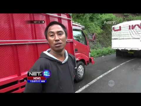 Jalan Tertutup Longsor, Lalu Lintas di Sulawesi Utara Lumpuh Hingga Belasan Jam - NET12