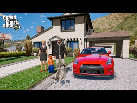 Download Youtube: GTA 5 REAL LIFE MOD#151-NEW FAMILY HOUSE SHOPPING
