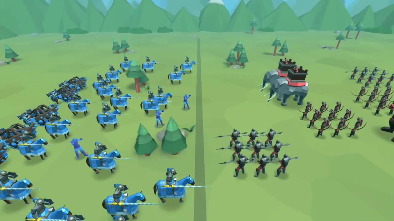 Epic Battle Simulator 2 Level 45 Youtube