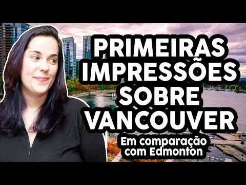 IMPRESSÕES SOBRE VANCOUVER DE UMA MORADORA DE EDMONTON
