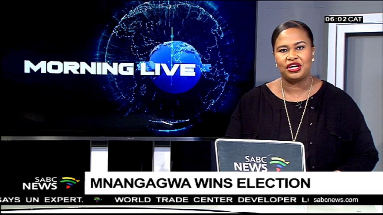Mnangagwa wins election