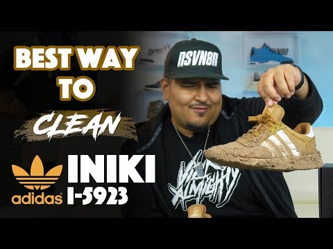 The Best Way To Clean Adidas Iniki (I-5923) With Reshoevn8r!