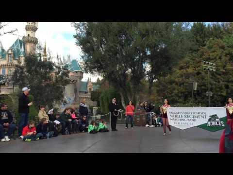 Nogales Noble Regiment Visits Disneyland!