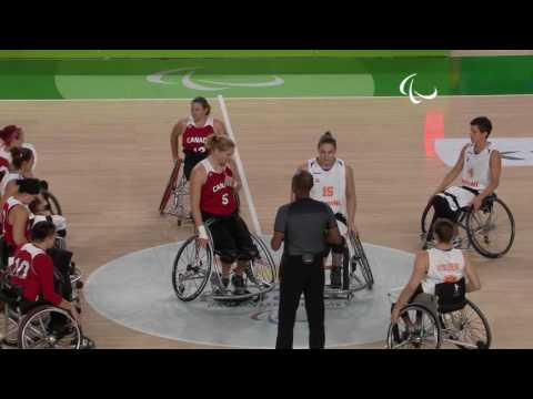 Wheelchair Basketball | Netherlands vs Canada | Women's Quarterfinal | Rio 2016 Paralympic Games