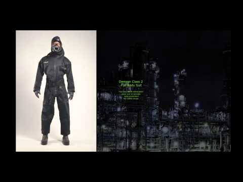 Best Hazmat Suits by RST Radiation Shield Technologies Demron