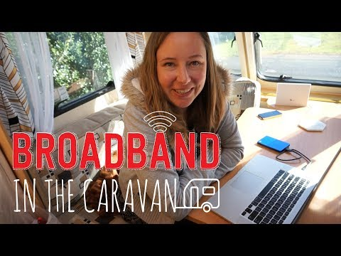 Broadband in the caravan with Wireless Nation | New Zealand