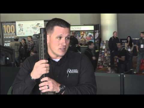 Daniel Defense DDM4 ISR 300 - Jim Ross   2016 SHOT Show TV Studio