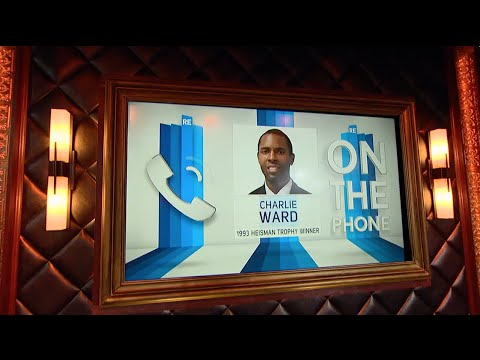 Charlie Ward Talks Heisman Trophy & N.Y. Knicks with Suzy Shuster on The RE Show - 12/12/14