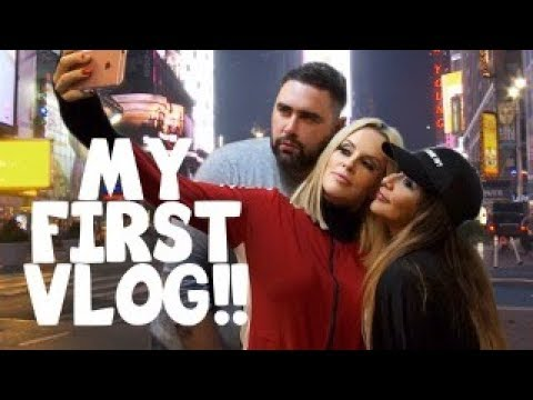My First Vlog: NYC with Jenny McCarthy, Apartment Tour and Wedding Dress Shopping