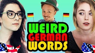 2 American Girls Guess WEIRD GERMAN WORDS | Learn Deutsch Challenge | Get Germanized