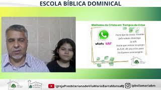 ESCOLA BÍBLICA DOMINICAL-DIA DA BÍBLIA