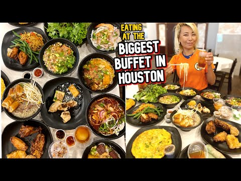 EATING AT THE BIGGEST BUFFET IN HOUSTON, TEXAS!!!! #RainaisCrazy - Kim Son Buffet On Bellaire
