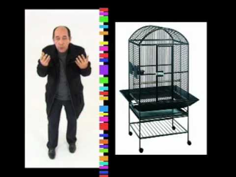 achat cage oiseaux youtube. Black Bedroom Furniture Sets. Home Design Ideas