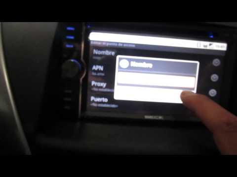 Configuración 3G  en autoradio BE-1000