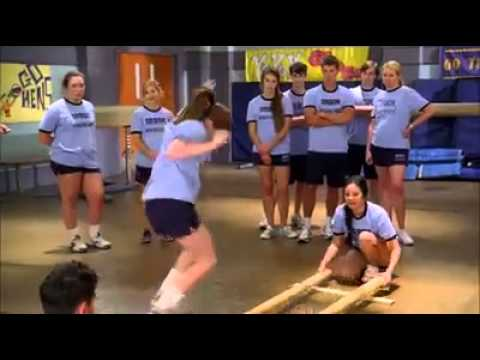 Philippine Tinikling Dance in an American School