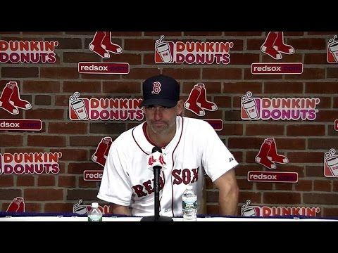 TOR@BOS: Lovullo on Red Sox offense in 11-4 win