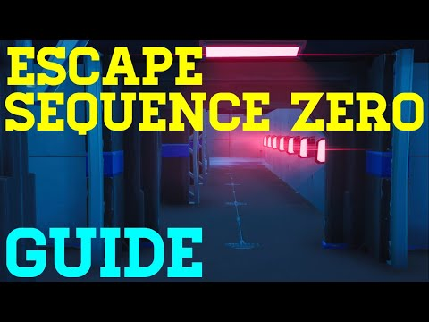 How To Complete Escape Sequence Zero By Puzzler -  Fortnite Creative Guide