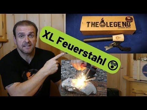 Outdoor Ninja XL Feuerstahl - THE LEGEND ????