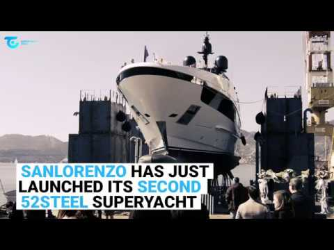 Sanlorenzo 52Steel SUPERYACHT 'KD' LAUNCH
