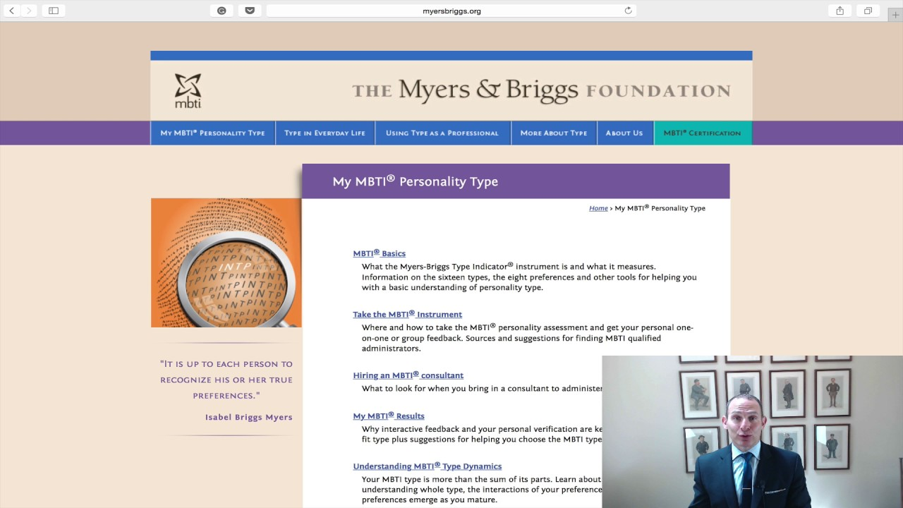 Jons Business Tip Of The Day How Myers Briggs Can Help Your