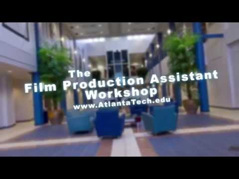 Two-day Film Production Assistant Course @ Atlanta Technical College,