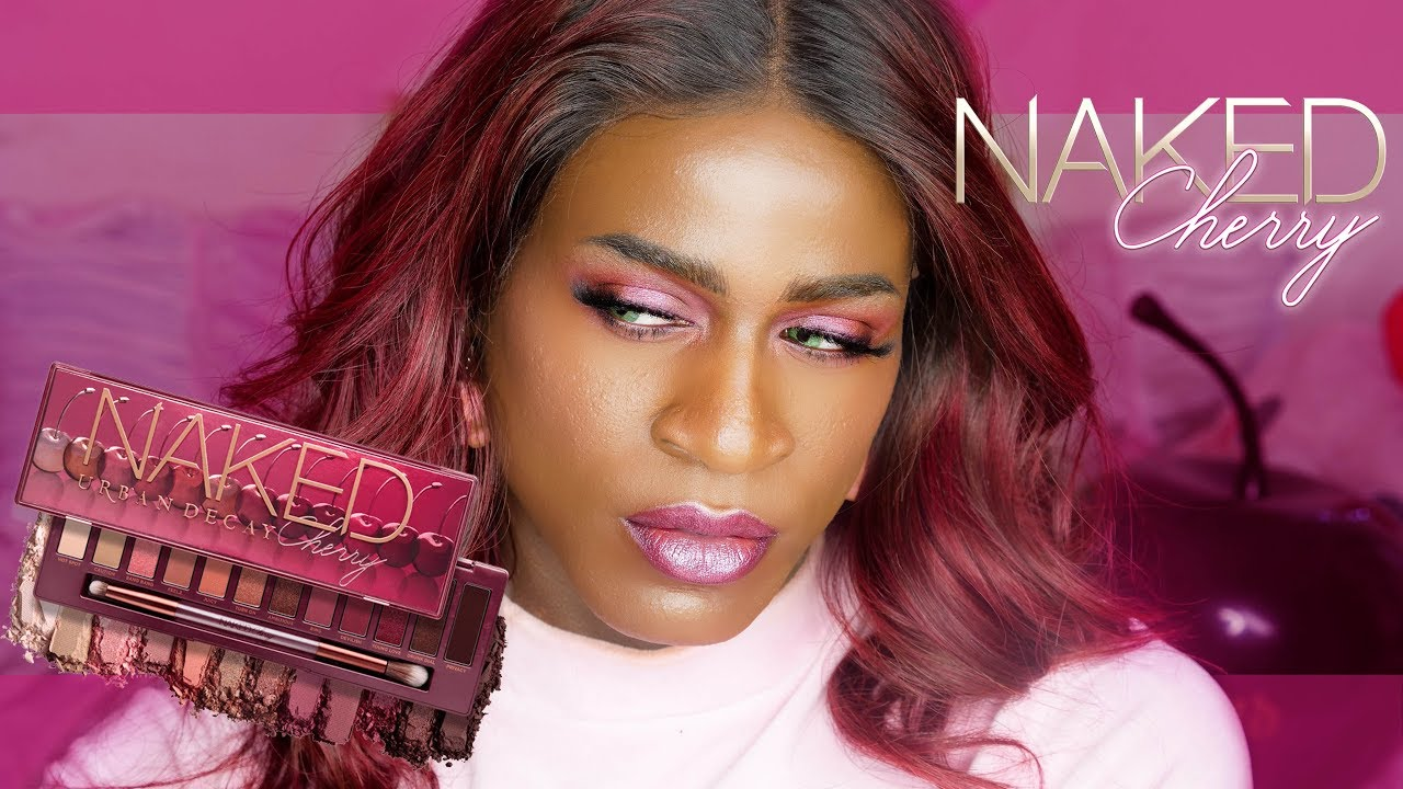 Miles Jai: Popt My Cherry!♡ | Tryin Out Urban Decay's Naked Cherry Palette