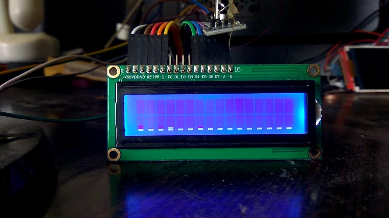 TDA7449 + энкодер + ИК пульт + анализатор спектра
