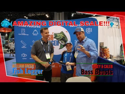 Fish Logger Scales - Bluetooth Bass Fishing Scale! ICAST 2019