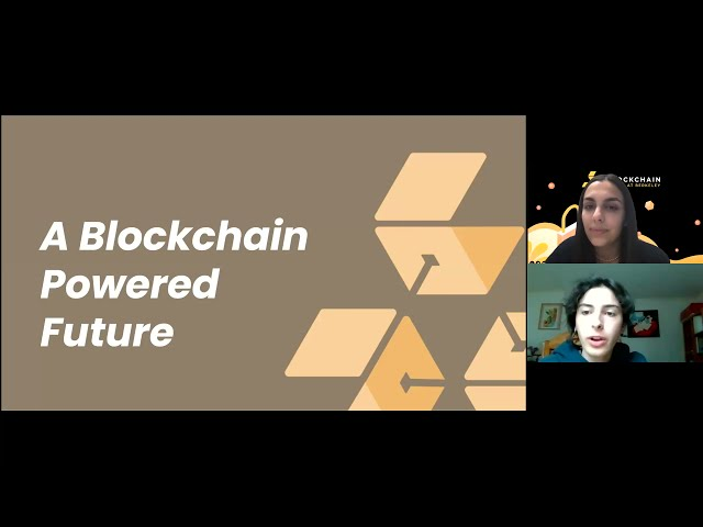 Lecture 10: A Blockchain Powered Future