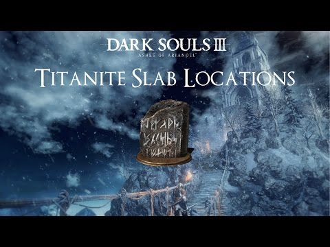 All Dlc Titanite Slabs Ringed City