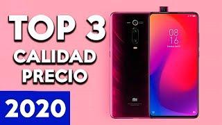 TOP 3 MEJORES TELEFONOS CALIDAD PRECIO 2020