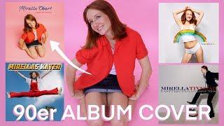 90er Album Cover nachstellen - Britney, Justin, Avril uvm.