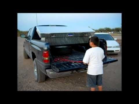 Truck Trunk Tailgate Tool Box Prototype Youtube