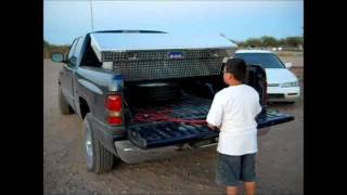 Truck Trunk - Tailgate Tool Box - Prototype