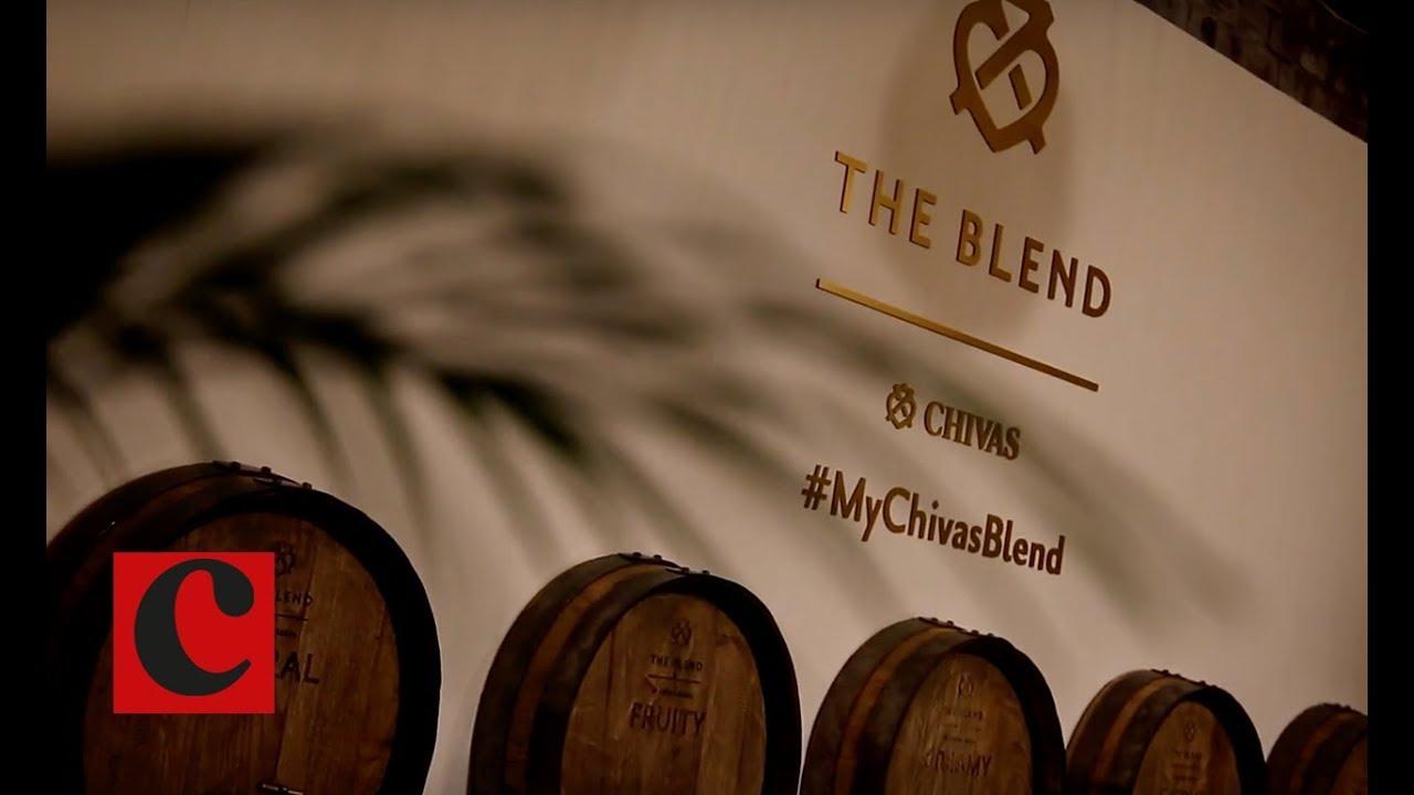 eaacfdcbdd6 Pernod Ricard's Chivas Regal hosts blending experience - YouTube