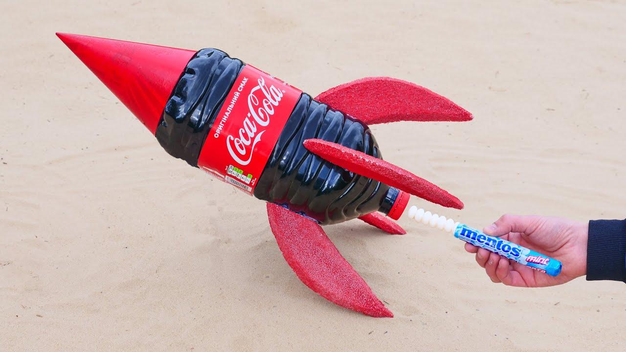Coca-Cola Rocket vs Mentos