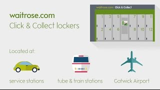 New Waitrose.com Click and Collect lockers