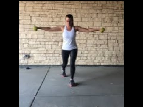 Dumbbells with Body Weight - So fun!