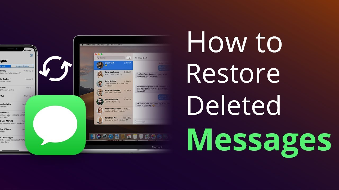 how to pull up deleted text messages