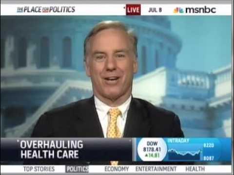 MSNBC interviews Gov. Howard Dean on health care reform