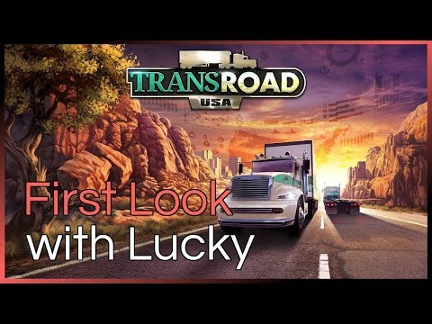 Transroad USA - With Lucky - First Look |