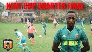 SE DONS vs REAL GIMA | KENT CUP QUARTER FINAL | 'I'M THE MAN | Sunday League Football