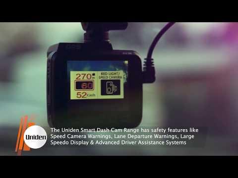 Uniden   Smart Dash Cam For Your 4WD